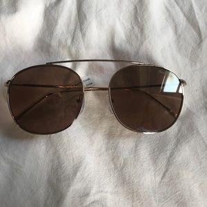 Illesteva Mykonos II Sunglasses - Rose / Mocha
